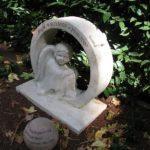 Skulptur Engel, Kalkstein