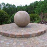 Kugel, Ibbenbürener Sandstein
