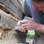 Steinfestigung mit KSE
