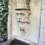 Wasserspeier aus Rüthener Grünsandstein